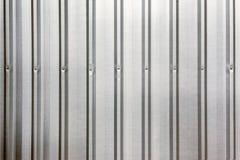 Modell, bakgrund, abstrakt begrepp eller textur för metallark. Royaltyfri Fotografi