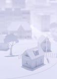 Modell City Royaltyfria Bilder