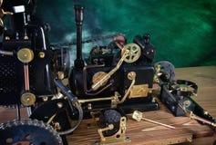 Modell der Dampfmaschine lizenzfreies stockbild