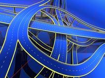 Modell der Straßen vektor abbildung
