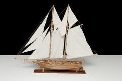 Modell des Schiffes lizenzfreie stockfotografie