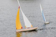 modell för 2 fartyg Arkivbilder