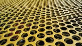 Modell för Abstrack gulingfördjupning royaltyfri foto