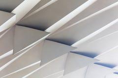 modell för abstrakt begrepp för illustration 3D arkitektonisk Royaltyfri Bild