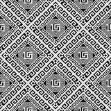 Modell för abstrakt geometrisk vektor för grek sömlös Dekorativ ändring vektor illustrationer