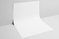 Modell för affisch A3 - väggbakgrund Fotografering för Bildbyråer