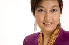 modell för asiat 5 Royaltyfri Fotografi