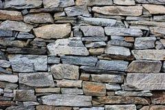 Modell för avsnitt för murverk för stenvägg arkivbild