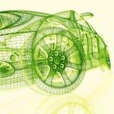 modell för bilar 3d Royaltyfri Foto