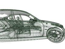 modell för bilar 3d Arkivbilder