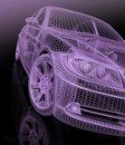modell för bilar 3d Royaltyfri Fotografi