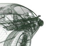 modell för bilar 3d Arkivfoton
