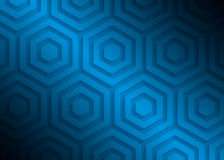 Modell för blått papper, abstrakt bakgrundsmall för websiten, baner, affärskort, inbjudan royaltyfri illustrationer