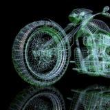 modell för cykel 3d royaltyfri illustrationer