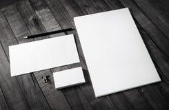 Modell för företags identitet arkivbild