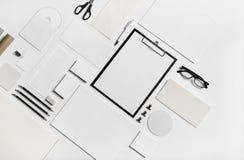 Modell för företags identitet arkivbilder