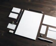 Modell för företags identitet fotografering för bildbyråer