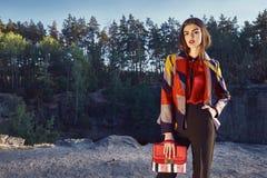 Modell för glamour för kvinna för varmt sexigt dammode härlig fotografering för bildbyråer