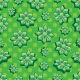 Modell för gräsplan för Ramadanform 3d sömlös royaltyfri illustrationer