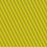 Modell för gul hund Arkivfoto