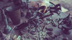 Modell för hjul för stålvapentrumma royaltyfri foto