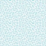 Modell för labyrint för geometri för abstrakt begrepp för vektordiagram stock illustrationer