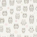 modell för lilla owls Royaltyfri Bild