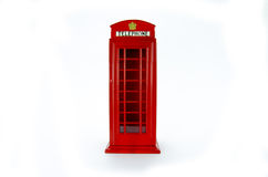 Modell för London telefonask Royaltyfri Foto