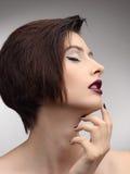 Modell för mode för skönhetVogue stil Girl Royaltyfria Foton