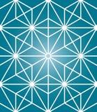 Modell för modern sakral geometri för vektor sömlös Arkivfoto
