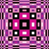 Modell för Op konst Seamless geometrisk textur Arkivbilder