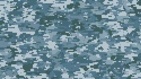 Modell för skala för Digital kamouflage mång- royaltyfri illustrationer