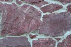 Modell för stenvägg. Arkivfoto