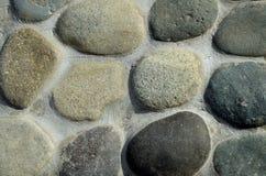 Modell för stenvägg. Fotografering för Bildbyråer