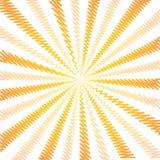 Modell för strålar för solSunburst krabb royaltyfri illustrationer