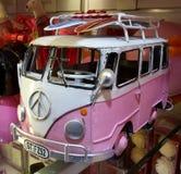 Modell för tappningVolkswagen buss arkivbild