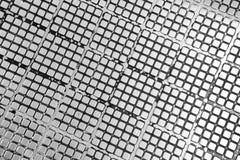 Modell för textur för metallplatta som används som abstrakt bakgrund Royaltyfri Foto