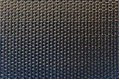 Modell för textur för raster för närbildsvart plast- wattled royaltyfri fotografi