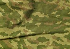 Modell för torkduk för gräsplan- och bruntfärgcamoufklage Royaltyfria Foton