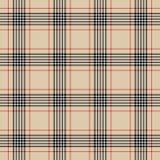 Modell för traditionellt rutigt brittiskt tyg för tartan sömlös royaltyfri illustrationer