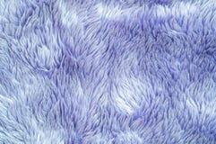 Modell för tyg för Closeupyttersidaabstrakt begrepp på den blåa tygmattan på golvet av hustexturbakgrund Royaltyfri Fotografi