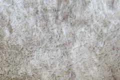 Modell för tyg för Closeupyttersidaabstrakt begrepp på den gråa tygmattan på golvet av hustexturbakgrund Royaltyfri Bild