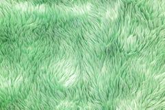 Modell för tyg för Closeupyttersidaabstrakt begrepp på den gröna tygmattan på golvet av hustexturbakgrund Royaltyfri Bild