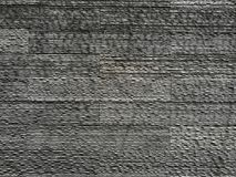 Modell för vägg för grå färgstentegelplatta royaltyfria foton