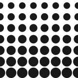 Modell för vektorrastercirklar bakgrund dots rastret Arkivbild