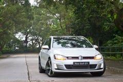 Modell för Volkswagen ny golf GTI 2013 Royaltyfria Foton