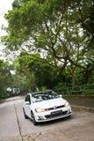 Modell för Volkswagen ny golf GTI 2013 Royaltyfri Fotografi