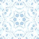 Modell f?r design f?r Cristal symmetri abstrakt s royaltyfri illustrationer
