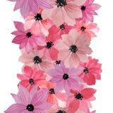 modell f?rfattare blommar vattenf?rg f?r I-m?lningsbild vektor illustrationer