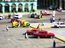 Modell falsificado: Havanna Cuba fotografia de stock